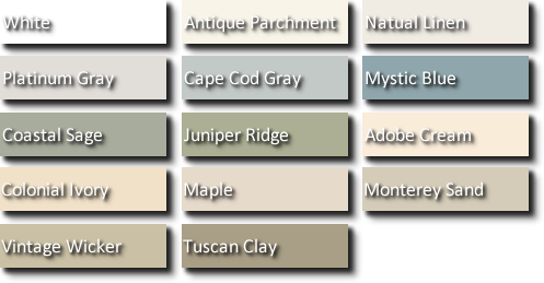 Vinyl Siding Guy Vinyl Siding Colors Of Irving Tx